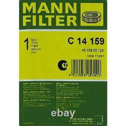 10x MANN Luftfilter C 14 159 Air Filter