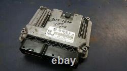 2007 Seat Leon 2.0 Tdi Diesel Bosch Bkd Engine Ecu Ecm 03g906021ll 0281013280