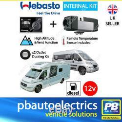 2020 Webasto Air Top 2000STC Multi Control 12v Motorhome Diesel Heater 2 Outlet