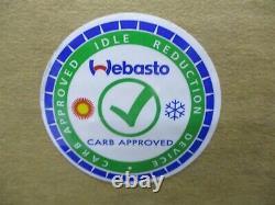 5010609B NEW GENUINE WEBASTO AIR TOP 2000 ST DIESEL BUNK HEATER 12V With SMARTEMP