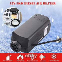 5KW 12V Top Quality No noise Diesel Air Heater For Camping Trucks Boat Car Trail