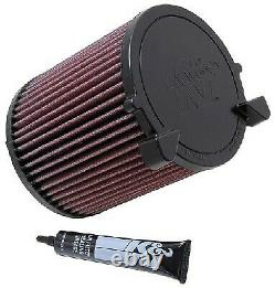Air Filter E-2014 K&N Genuine Top Quality Replacement New
