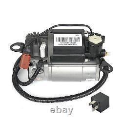 Audi A8 4E 02-10 Diesel 10 12 Kompressor Luftfederung & Ventilblock & Relais TOP