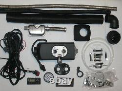 Eberspächer Airtronic D2 Diesel 12V Standheizung mit Einbausatz + Modul Uhr TOP