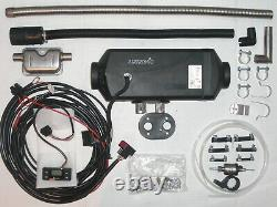 Eberspächer Airtronic D4 Plus 12V 4 KW Diesel Standheizung + Bausatz + Timer TOP