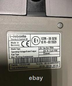 Kit Webasto Air Top EVO 55 24 V diesel