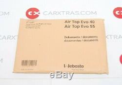 NEW WEBASTO AIR TOP 40 EVO 12V 4.0 kW DIESEL INTERIOR AIR HEATER