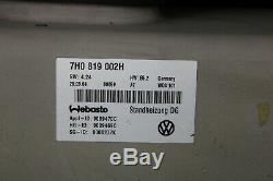 VW T5 Standheizung Heizgerät Webasto Air Top 3500 ST Multivan Bus 7H0819002H