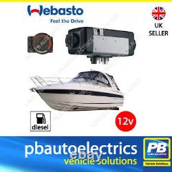WEBASTO AIR TOP 2000STC HEATER 12v Marine Boat Diesel Rotary Control 4111181C