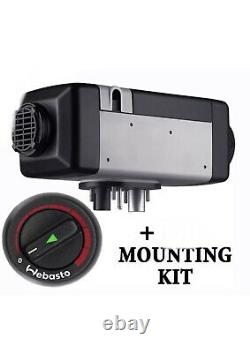 WEBASTO AIR TOP EVO 55 12V DIESEL AIR HEATER with mounting kit, GENUINE