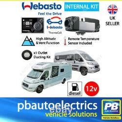 Webasto 2020 Air Top 2000 STC RV Thermocall 12v Motorhome Diesel Heater 1 Outlet