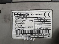 Webasto Air Top 2000 D, 12V, Diesel, 2kW Luftheizung