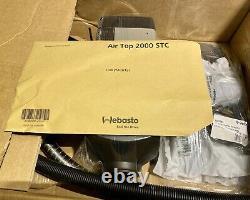 Webasto Air Top 2000 STC Diesel 2kw 12V Air Heater with mounting kit, GENUINE