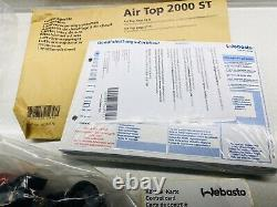 Webasto Air Top 2000 ST Diesel 2 kW 12 V night air heating & mounting kit