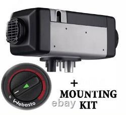 Webasto Air Top 2000 ST Diesel 2kw 12V Air Heater with mounting kit, GENUINE