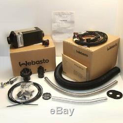 Webasto Air Top 2000 Stc 12v Diesel 2 Outlet Boat Marine Heater Kit
