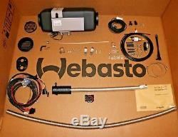 Webasto Air Top EVO 40 12V 24v Diesel Standheizung Komplett Einbausatz Regler