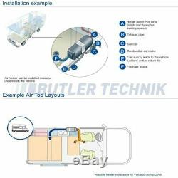 Webasto Air Top EVO 40 4kW Motorhome RV Diesel Air Heater 12V 2020 Model SALE