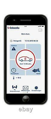 Webasto Luftheizung Air Top 2000STC, 2kW, Diesel, Benzin, 12V, Thermo Connect App